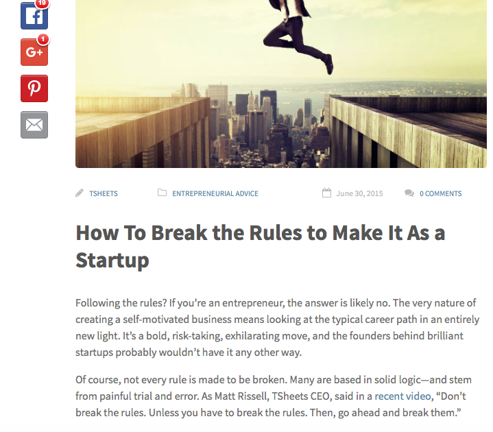 TSheets | Fundera articles | Jessica Holmes